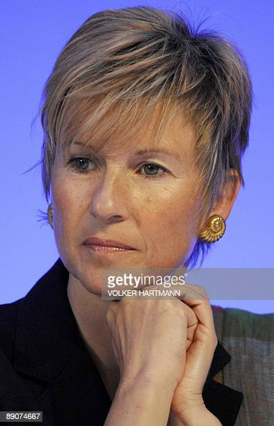 FILES Picture taken on May 12 2009 shows Susanne Klatten Germany's richest woman and major shareholder in German speciality chemicals group Altana...