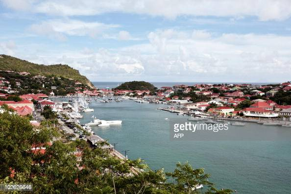 A picture taken on May 13 2010 shows the Gustavia harbour on SaintBarthelemy island French west indies Guadeloupe department AFP PHOTO CYRIL FOLLIOT