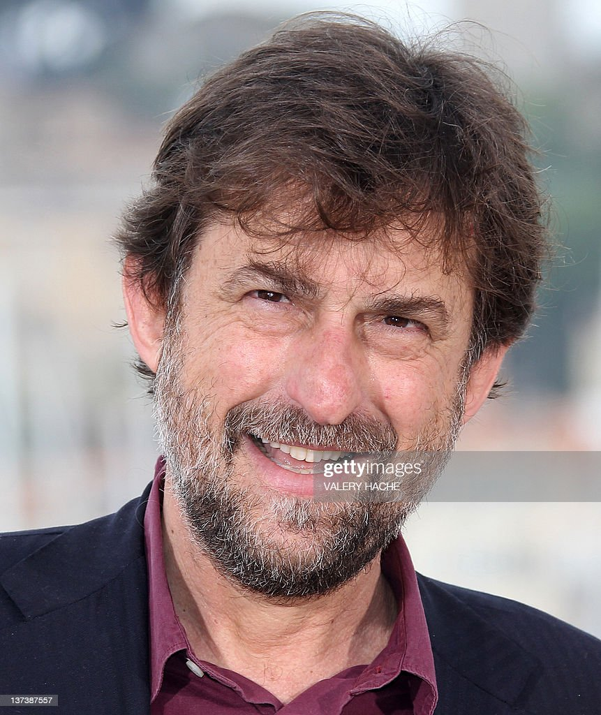 A picture taken on May 13 2011 in Cannes shows Italian actor and filmmaker Nanni Moretti Moretti will head the jury at this year's Cannes film...