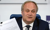 A picture taken on May 13 2016 shows Russia's deputy sports minister Yury Nagornykh attending a press conference in Moscow Russia's scandalmired...