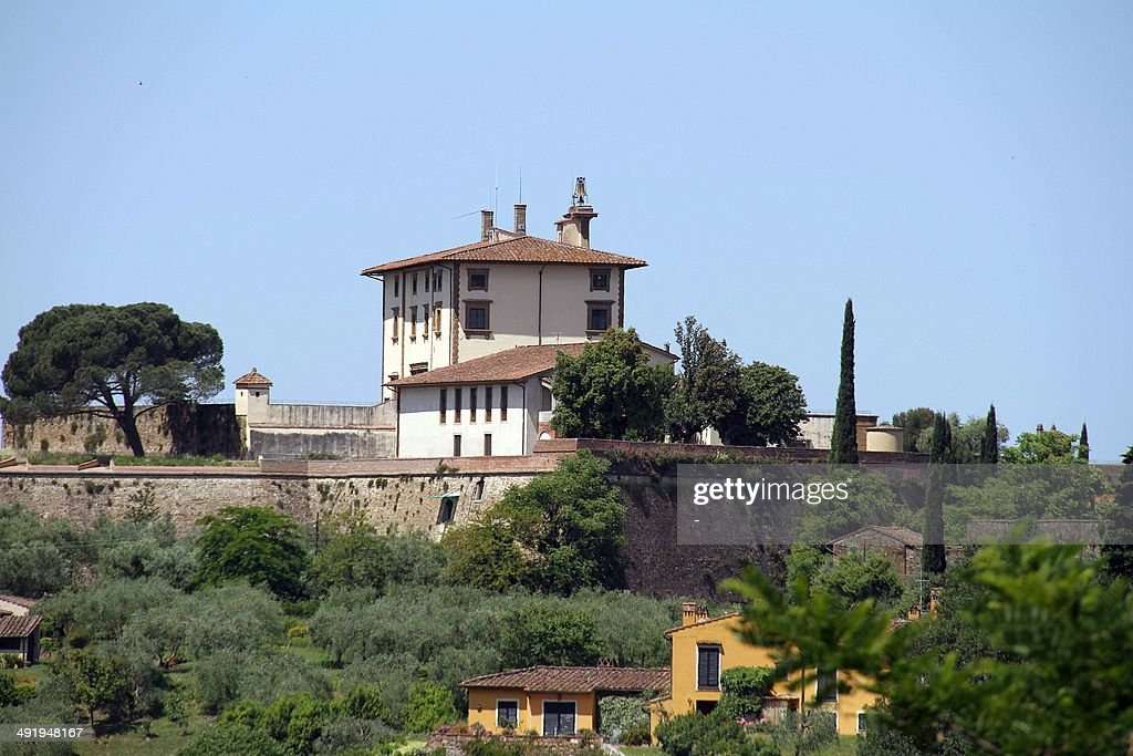 A picture taken on May 18, 25014 in Florence shows the Forte Belvedere where the Hip hop star Kanye West and reality TV celebrity Kim Kardashian should organise their wedding party on May 24, 2014. Kanye West and Kim Kardashian are to marry in a chateau near Paris before heading to Florence. Some 1,600 guests have been invited to the Chateau d'Usse, a Renaissance dwelling southwest of Paris, for the May 24 wedding ceremony, Florence newspaper la Nazione reported. From there the celebrity pair and their guests will head to the Italian city, where they have rented the Forte Belvedere -- a 16th-century fortress -- for their wedding party.