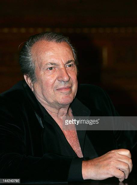 A picture taken on October 1 2007 shows Laszlo Seregi one of the most famous Hungarian choreographers posing at the Hungarian State Opera House in...