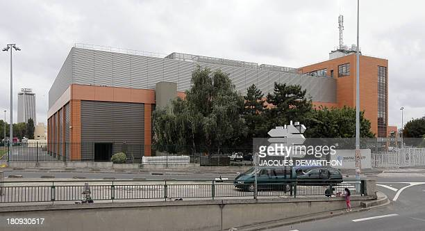 A picture taken on September 17 2013 in SaintDenis outside Paris shows the French branch of Digital Realty a company involved in datacenter...