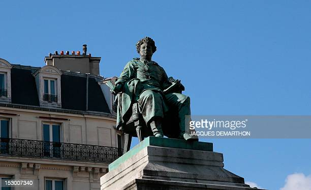 A picture taken on September 28 2012 shows the statue of the French writer Alexandre Dumas father on the place of general Catroux in Paris AFP...
