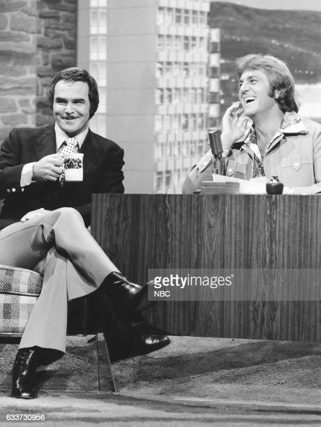 Actor Burt Reynolds during an interview with guest Host Don Meredith on May 7th 1975