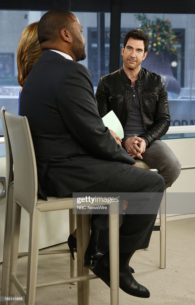 Actor Dylan McDermott appears on NBC News' 'Today' show on March 20, 2013 --