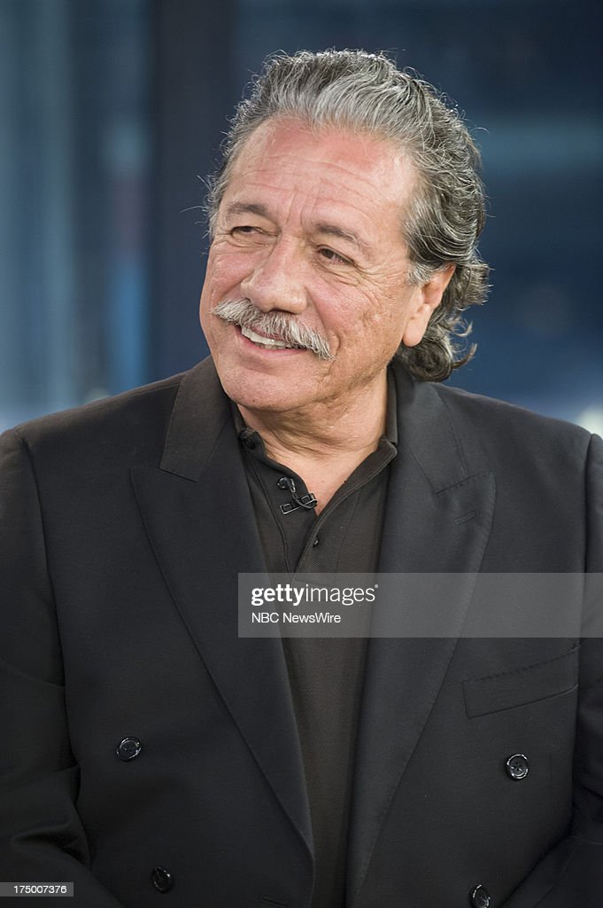 Actor <a gi-track='captionPersonalityLinkClicked' href=/galleries/search?phrase=Edward+James+Olmos&family=editorial&specificpeople=213817 ng-click='$event.stopPropagation()'>Edward James Olmos</a> appears on NBC News' Today show on July 29, 2013 --