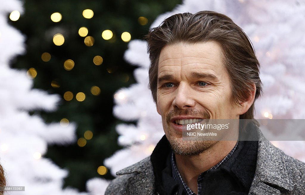 Actor <a gi-track='captionPersonalityLinkClicked' href=/galleries/search?phrase=Ethan+Hawke&family=editorial&specificpeople=178274 ng-click='$event.stopPropagation()'>Ethan Hawke</a> appears on NBC News' 'Today' show on December 20, 2013 --
