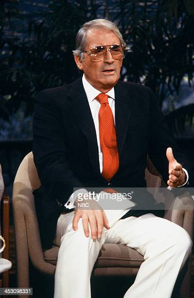 Actor Gregory Peck on December 30 1987