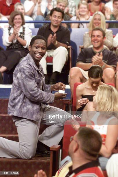 Actor Guy Torry proposing to girlfriend Monica Askew on June 6th 2001
