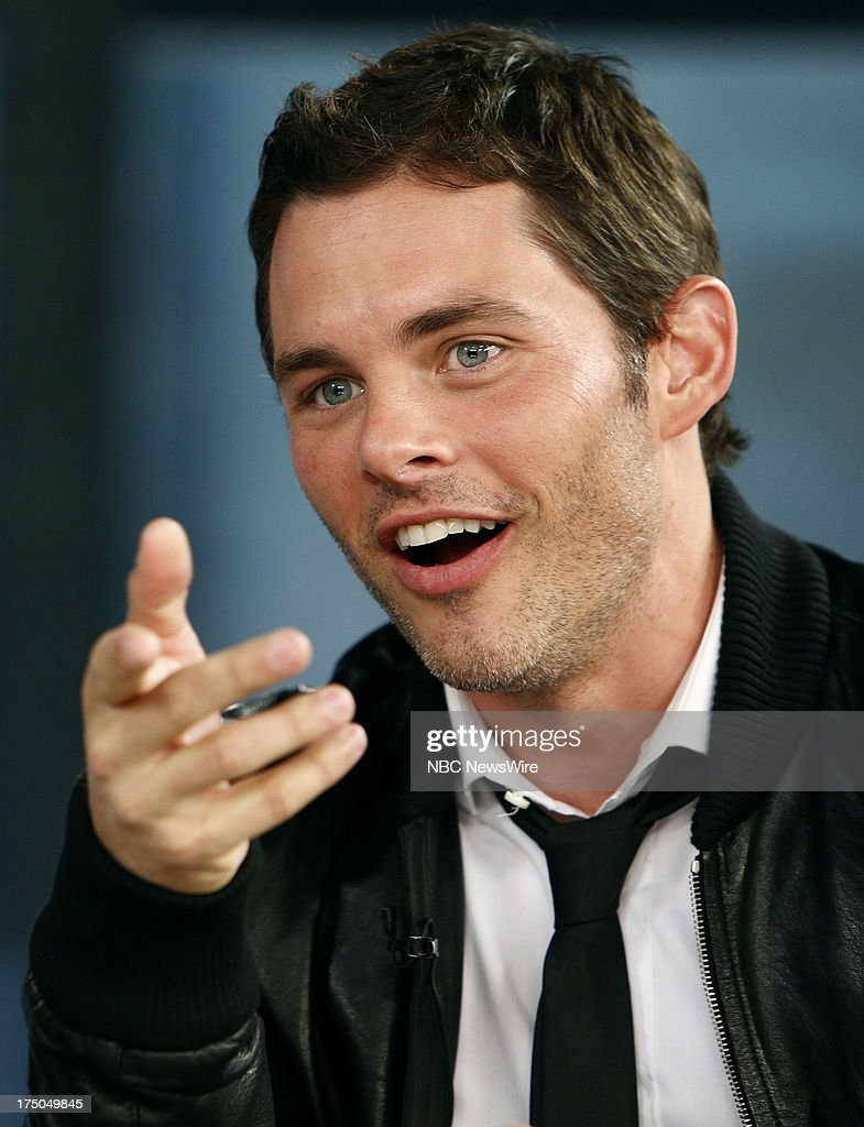 Actor James Marsden appears on NBC News' 'Today' show on July 30, 2013 --