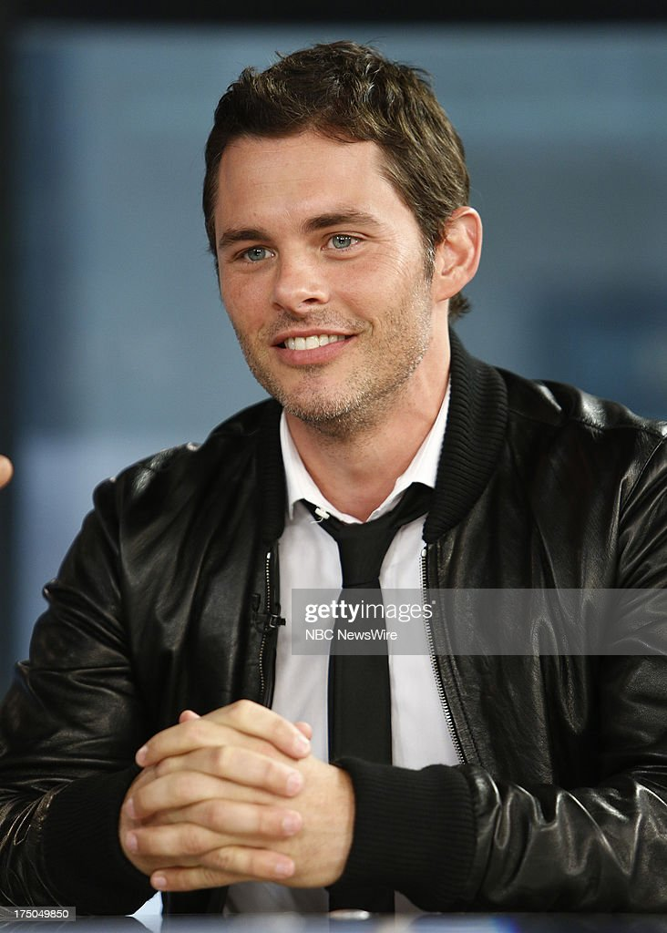 Actor <a gi-track='captionPersonalityLinkClicked' href=/galleries/search?phrase=James+Marsden&family=editorial&specificpeople=206902 ng-click='$event.stopPropagation()'>James Marsden</a> appears on NBC News' 'Today' show on July 30, 2013 --