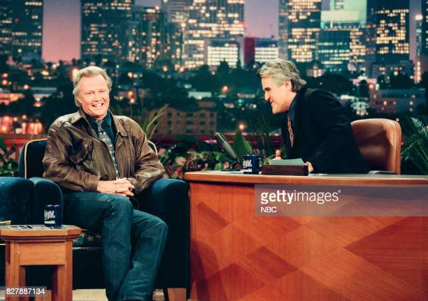 Actor Jon Voight during an interview with host Jay Leno on April 28 1999