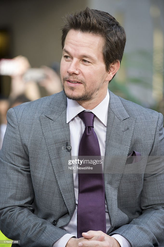 Actor Mark Wahlberg appears on NBC News' Today show on July 29, 2013 --