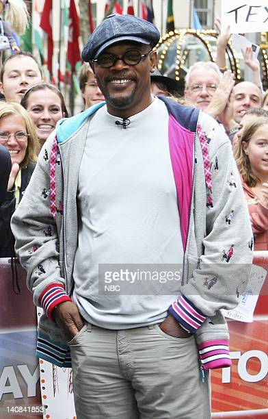 Actor Samuel L Jackson appears on NBC News' Today to talk about his new film 'Resurrecting the Champ' on August 22 2007 Photo by Heidi Gutman/NBCU...