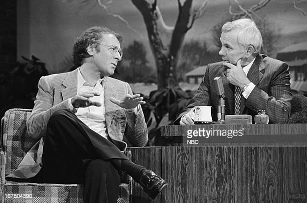 Actor/comedian Steve Landesberg host Johnny Carson on December 21 1979