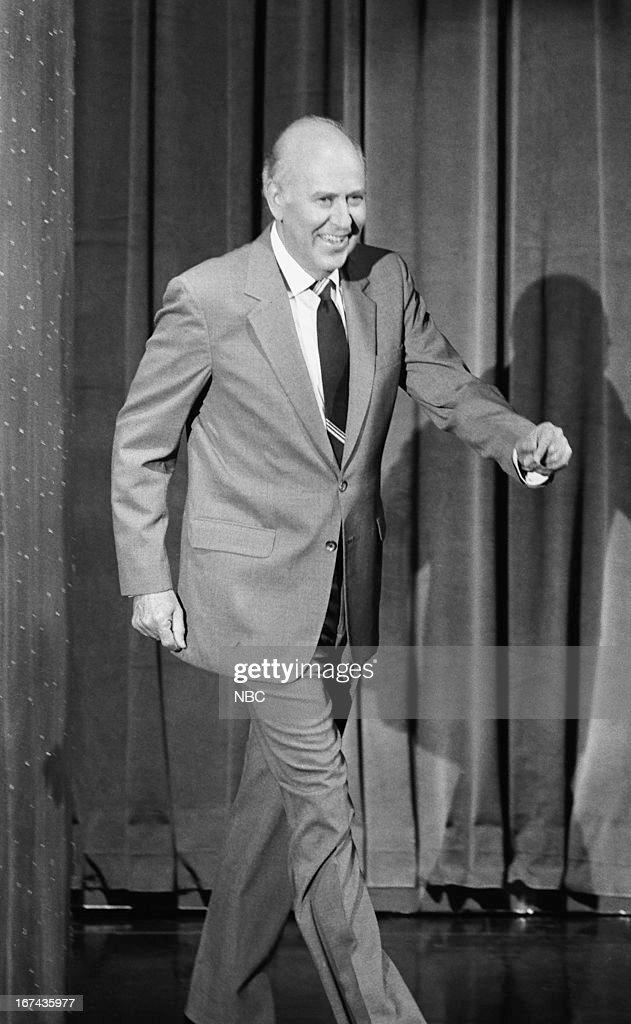 Actor/comedian/writer Carl Reiner on November 12, 1987 --