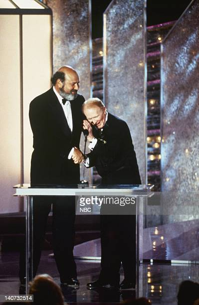 Actor/Director/Writer/Producer Rob Reiner Actor/Comedian Red Buttons Photo by Margaret Norton/NBCU Photo Bank