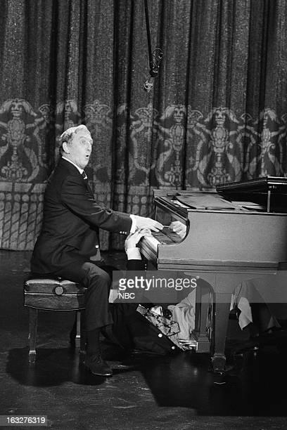 Actor/singer/dancer Ray Bolger composer Marvin Hamlisch on March 5 1976