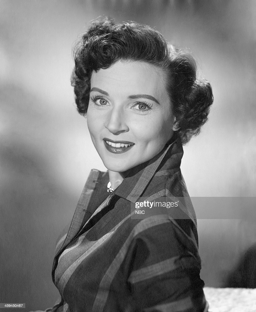 Actress Betty White in 1954