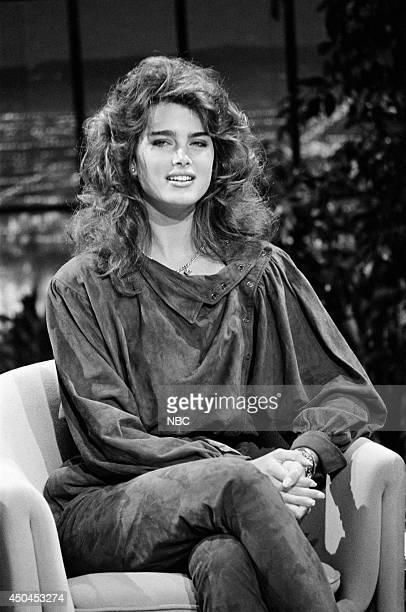 Actress Brooke Shields on May 17 1983