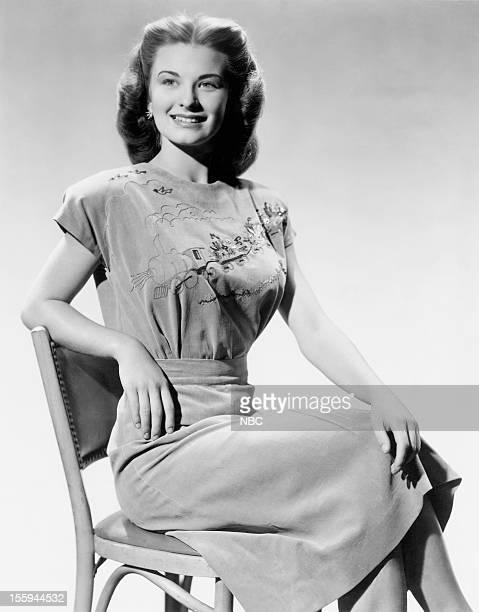 Actress Cloris Leachman in 1946