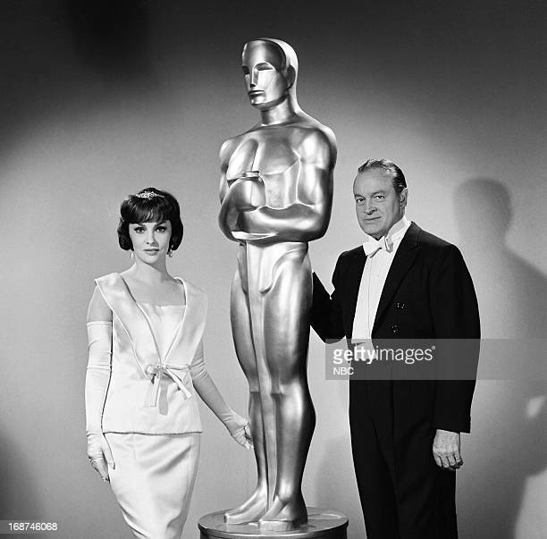Actress Gina Lollobrigida host Bob Hope