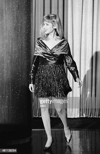 Actress Kimmy Robertson arrives on December 6 1990