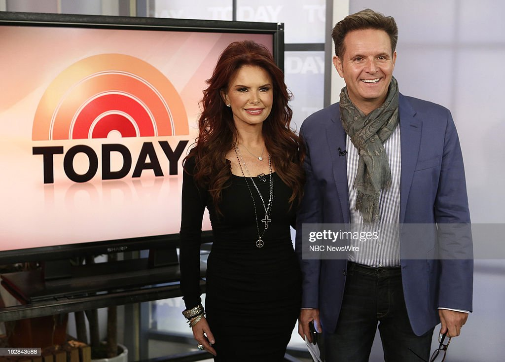 Actress Roma Downey and producer Mark Burnett appear on NBC News' 'Today' show on February 28, 2013 --