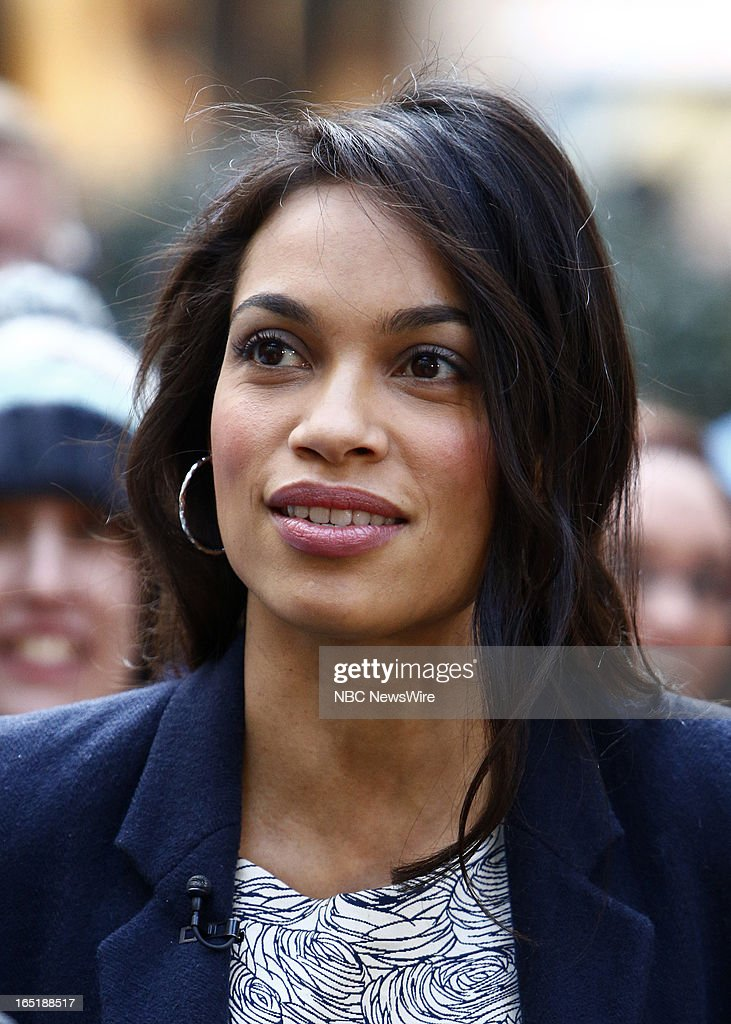 Actress Rosario Dawson appears on NBC News' 'Today' show on April 1, 2013 --
