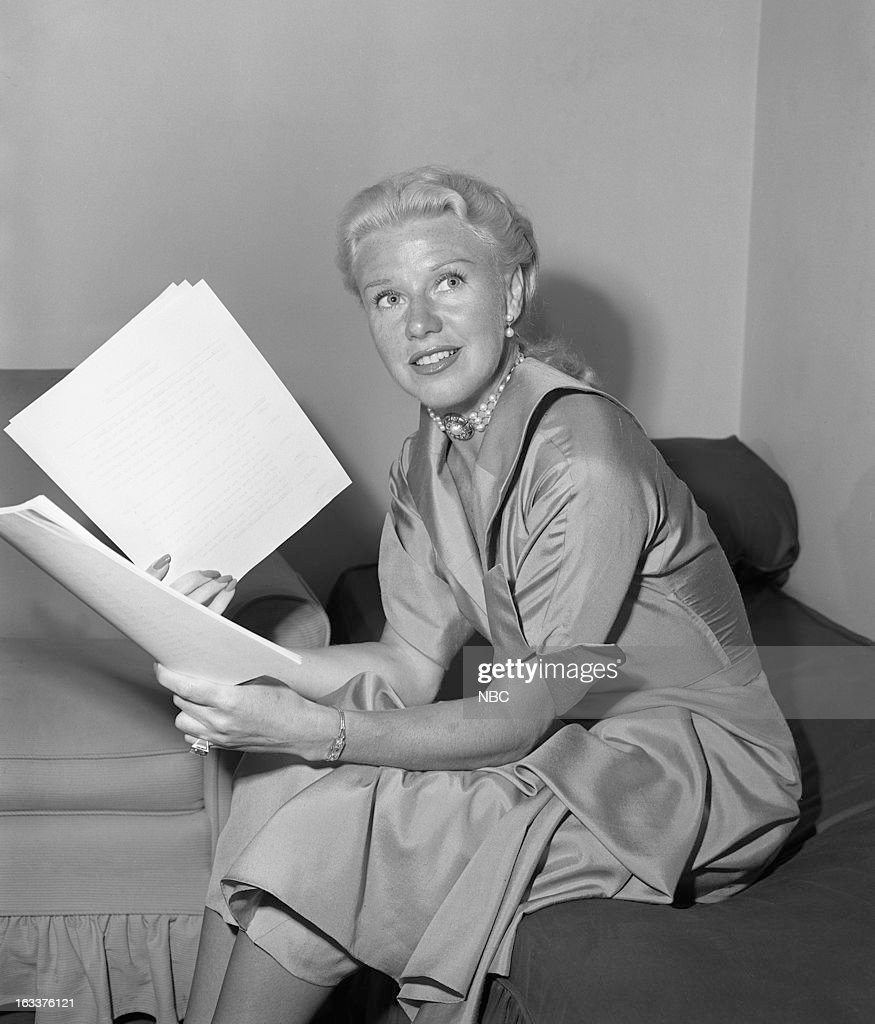 Actress/dancer Ginger Rogers in the 1950s --