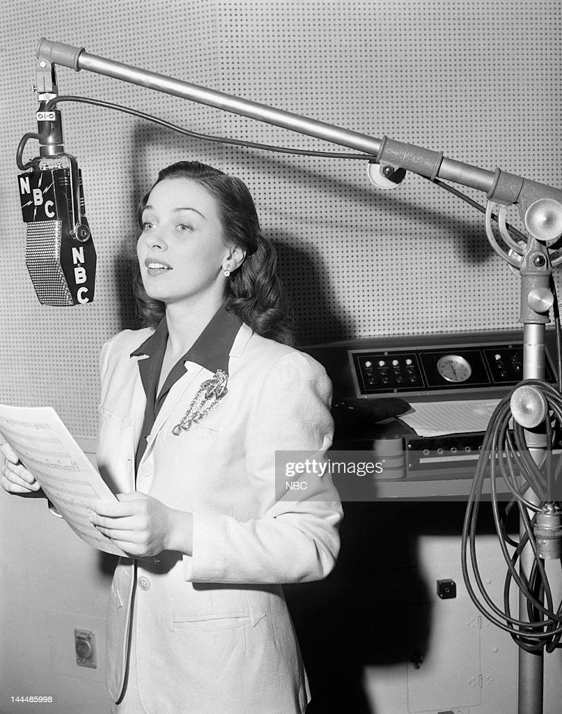 Actress/singer Patricia Morison in 1941