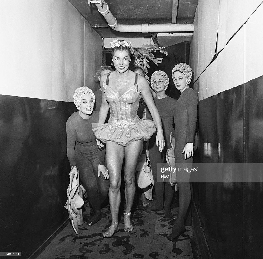 Actress/swimmer Esther Williams in 1956 --