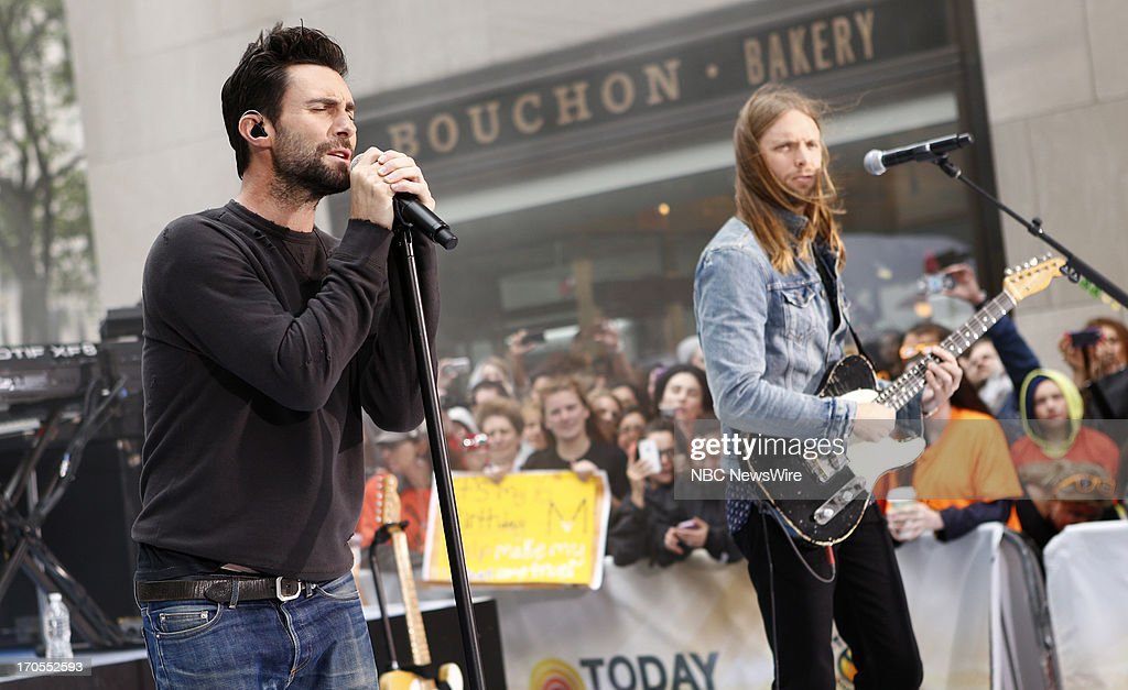 <a gi-track='captionPersonalityLinkClicked' href=/galleries/search?phrase=Adam+Levine+-+Singer&family=editorial&specificpeople=202962 ng-click='$event.stopPropagation()'>Adam Levine</a> and <a gi-track='captionPersonalityLinkClicked' href=/galleries/search?phrase=James+Valentine&family=editorial&specificpeople=213028 ng-click='$event.stopPropagation()'>James Valentine</a> of Maroon 5 appear on NBC News' 'Today' show --