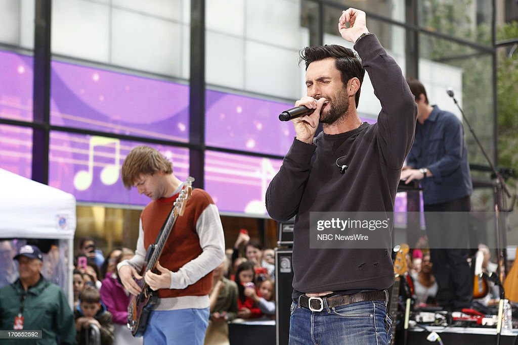 <a gi-track='captionPersonalityLinkClicked' href=/galleries/search?phrase=Adam+Levine+-+Singer&family=editorial&specificpeople=202962 ng-click='$event.stopPropagation()'>Adam Levine</a> of Maroon 5 appears on NBC News' 'Today' show --