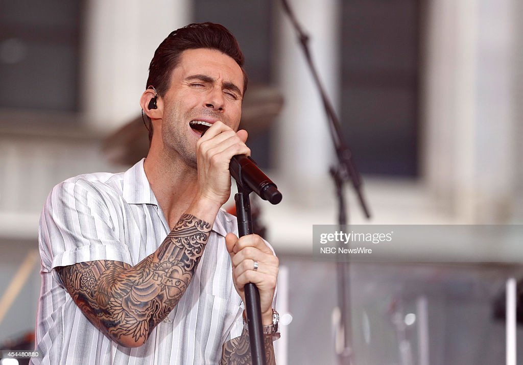 Adam Levine from Guess the Celebrity Tattoo! | E! News