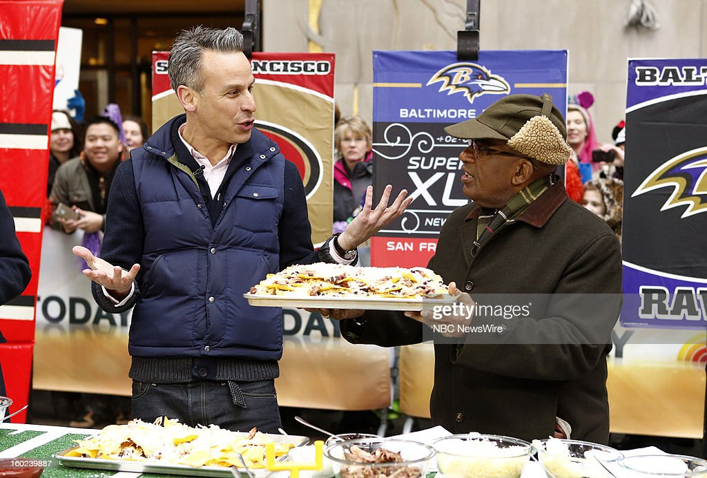 Adam Rapoport and Al Roker appear on NBC News' 'Today' show --