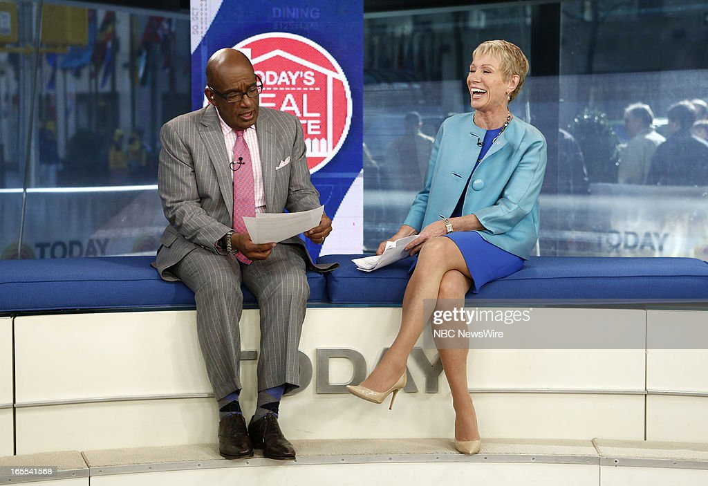 Al Roker and Barbara Cocoran appear on NBC News' 'Today' show --