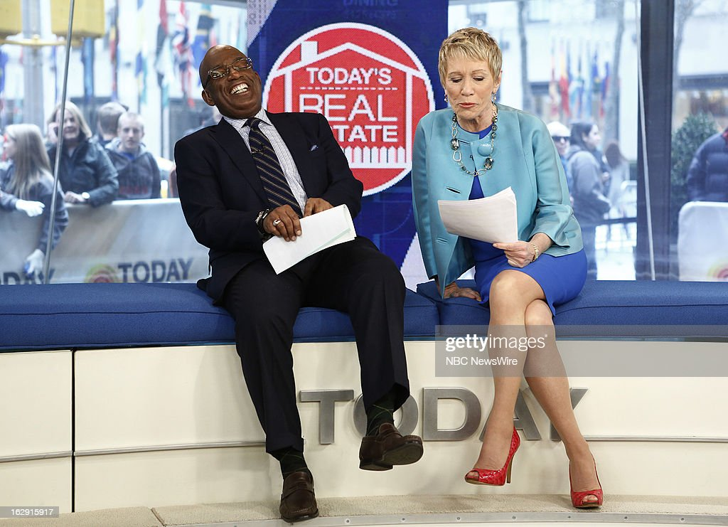Al Roker and Barbara Corcoran appear on NBC News' 'Today' show --