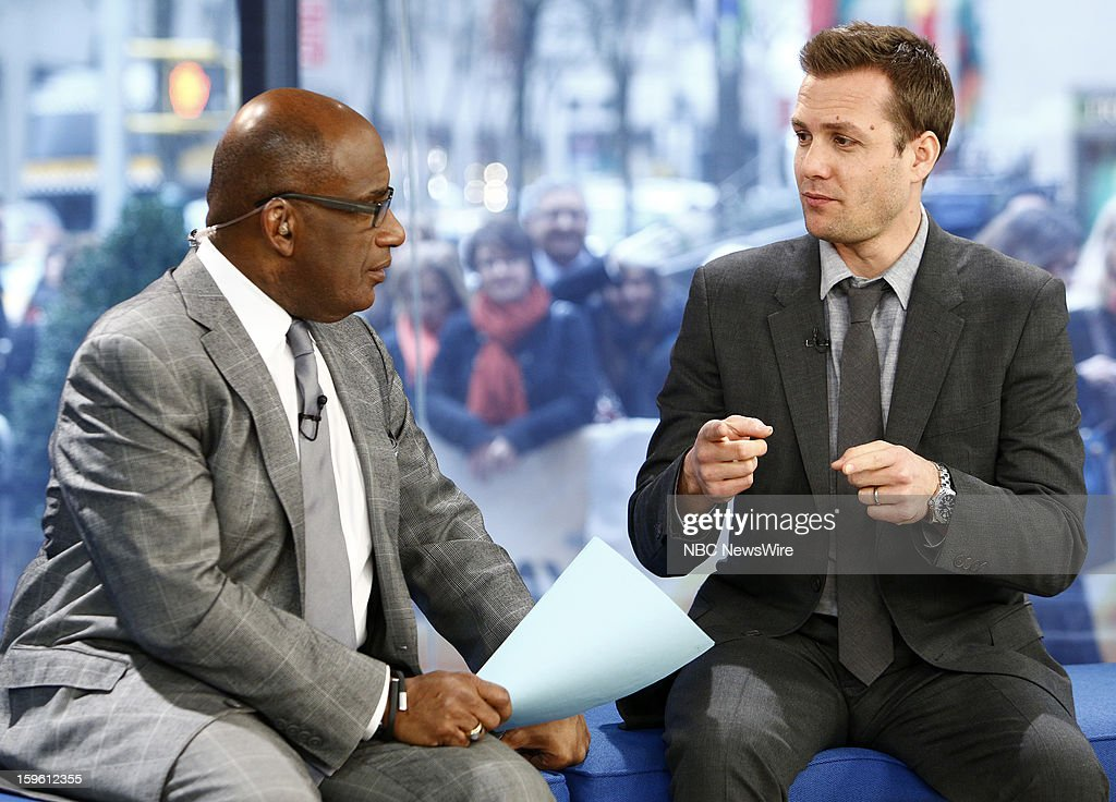 Al Roker and Gabriel Macht appear on NBC News' 'Today' show --