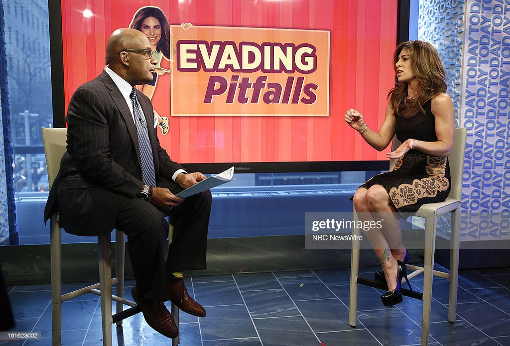 Al Roker and Jillian Michaels appear on NBC News' 'Today' show --