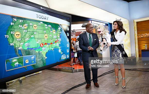 Al Roker and Mackenzie Bart appear on NBC News' 'Today' show