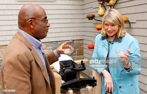 Al Roker and Martha Stewart appear on NBC News' 'Today' show