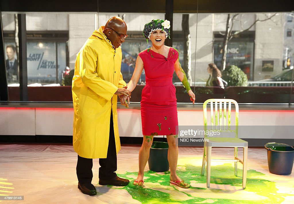 Al Roker and Natalie Morales appear on NBC News' 'Today' show --