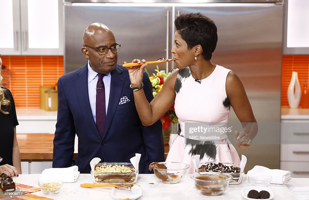 Al Roker and Tamron Hall appear on NBC News' 'Today' show --