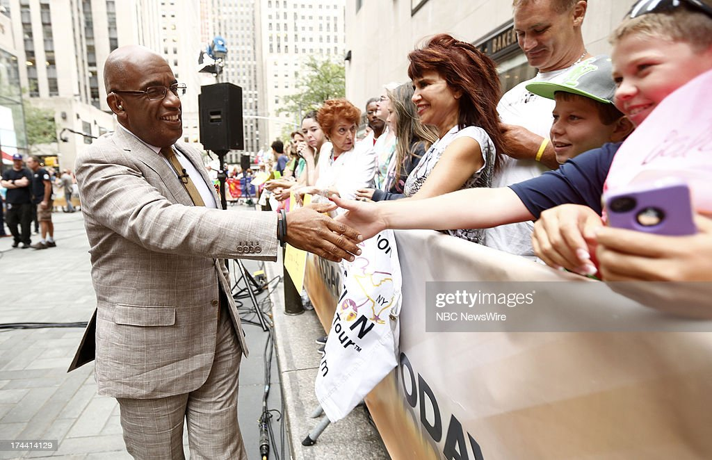 Al Roker appears on NBC News' 'Today' show --