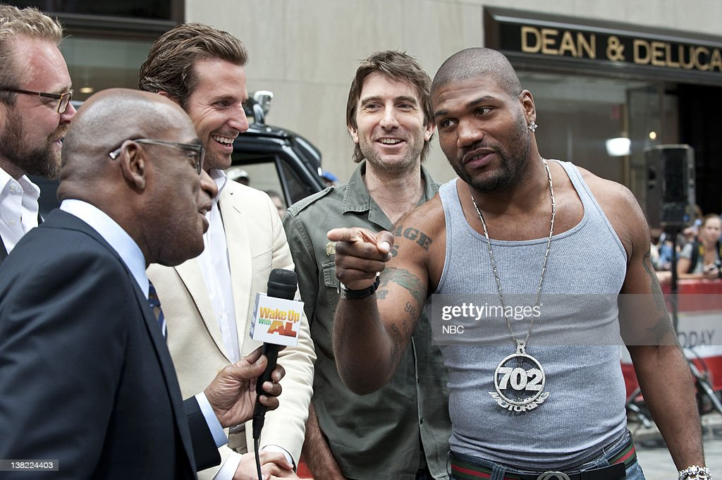 Al Roker Bradley Cooper Sharlto Copley Quinton Jackson Actors from 'The ATeam' speak with 'Today' cohosts about taking the iconic '80s television...