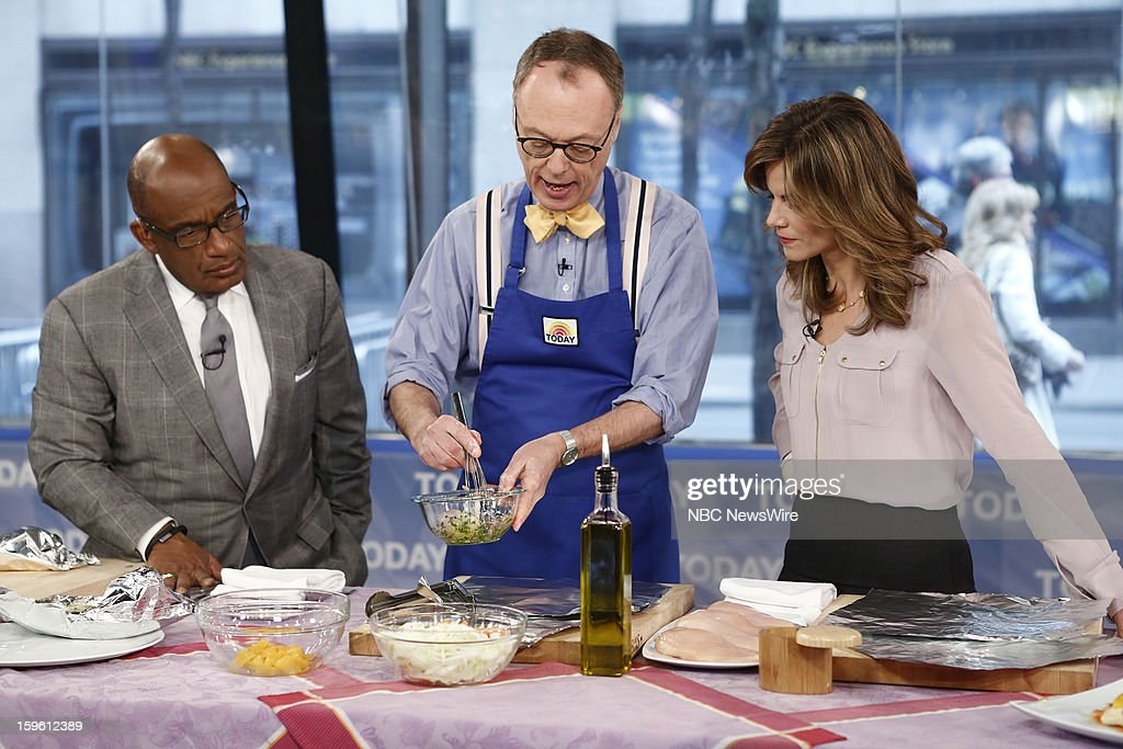 Al Roker, Chris Kimball and Natalie Morales appear on NBC News' 'Today' show --