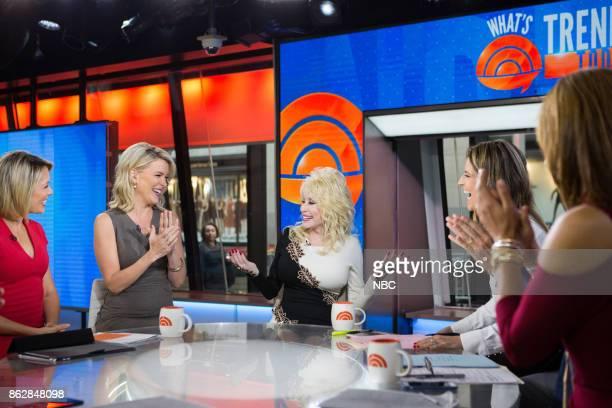 Al Roker Dylan Dreyer Megyn Kelly Dolly Parton Savannah Guthrie and Hoda Kotb on Monday October 16 2017