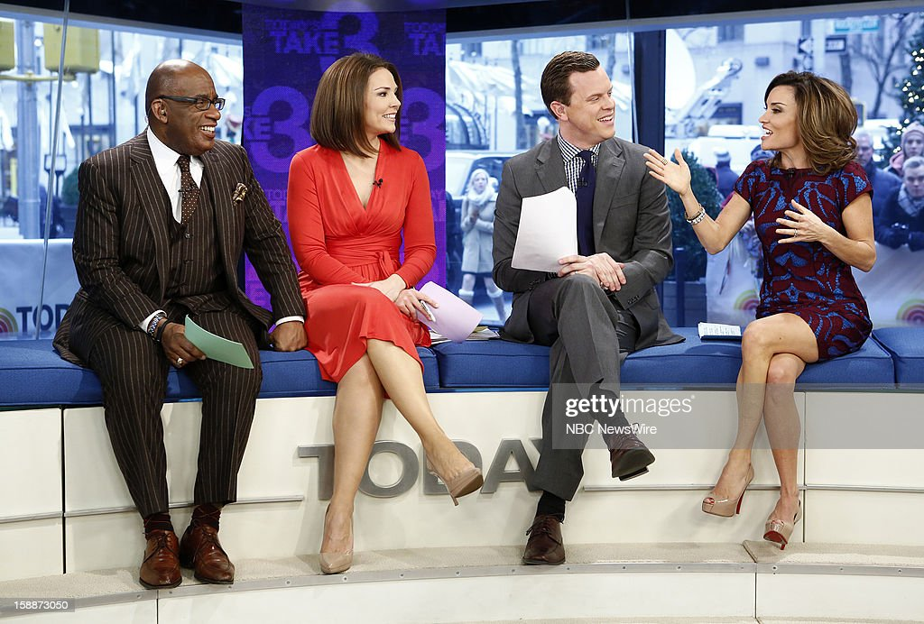 Al Roker, Erica Hill, Willie Geist and Kit Hoover appear on NBC News' 'Today' show --